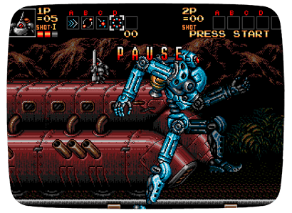 Contra: Hard Corps для Nintendo Wii (Virtual Console Wad)