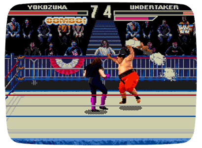 WWF WrestleMania: The Arcade Game для Nintendo Wii (Virtual Console Wad)